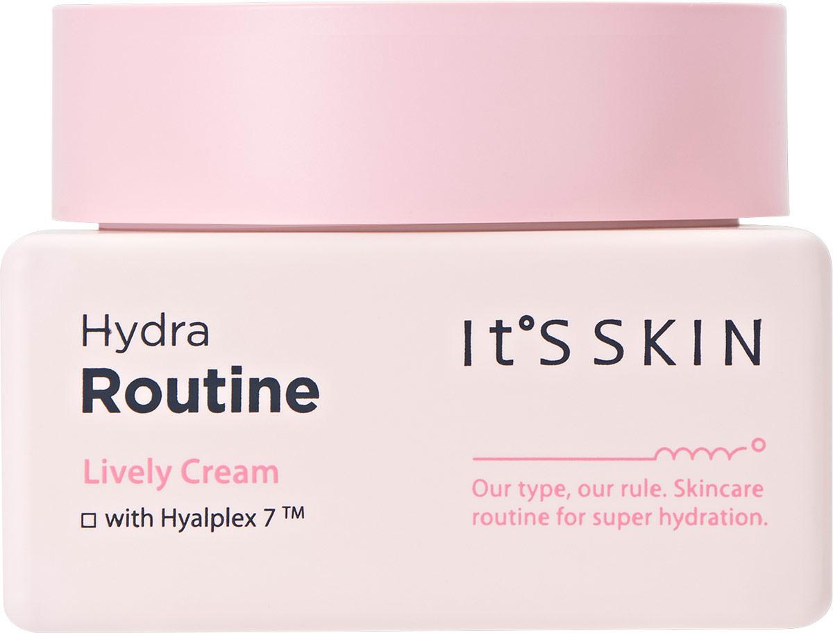 Крем для ухода за кожей It's Skin Hydra Routine Lively Cream, 50 мл Крем активно витаминизирует и смягчает кожу делает здоровой...