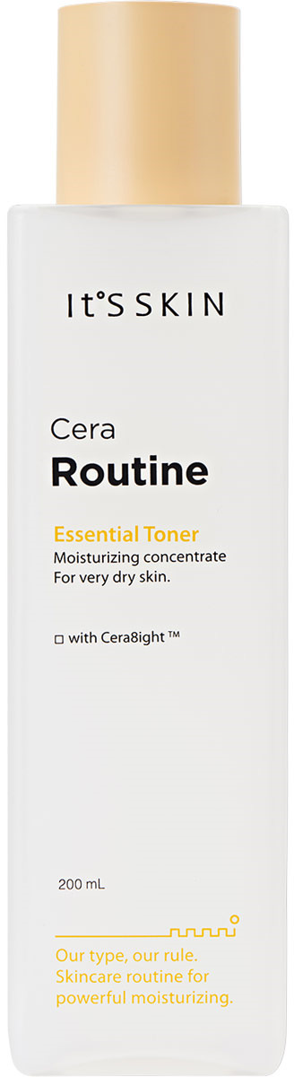 Фото - Тоник для лица It's Skin Cera Routine Essential Toner, 200 мл it s skin cera routine essential toner тонер для лица интенсивно увлажняющий 200 мл