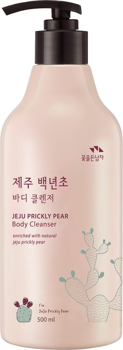 Гель для душа Flor de Man Jeju Prickly Pear Body Cleanser, 500 мл