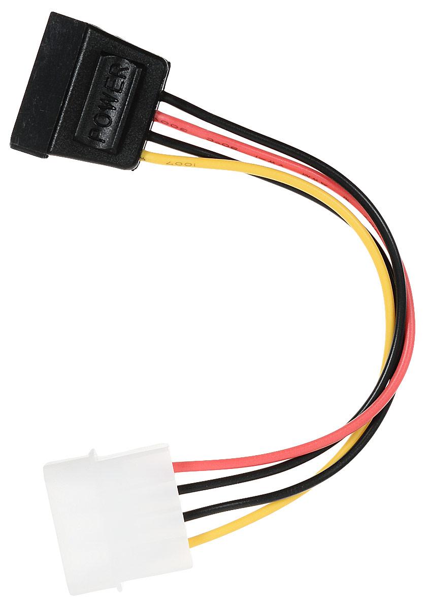 Cablexpert CC-SATA-PS кабель питания SATA molex 4pin/sata 15pin (0,15 м) cablexpert разветвитель питания sata page 3 page 4 page 4