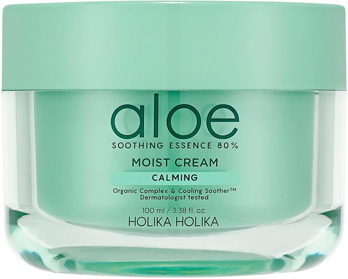 Крем для ухода за кожей Holika Holika Aloe Soothing Essence 80% Moist Cream Calming, 100 мл эмульсия для уходя за кожей holika holika