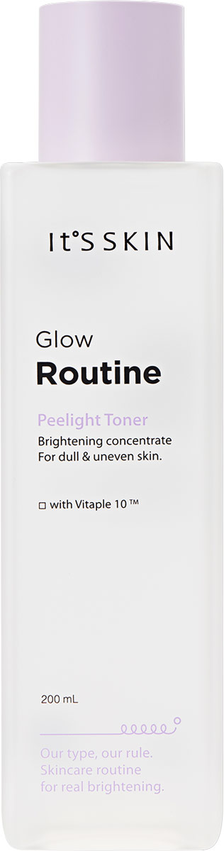 Фото - Тонер для лица It's Skin Glow Routine Peelight Toner, 200 мл it s skin cera routine essential toner тонер для лица интенсивно увлажняющий 200 мл