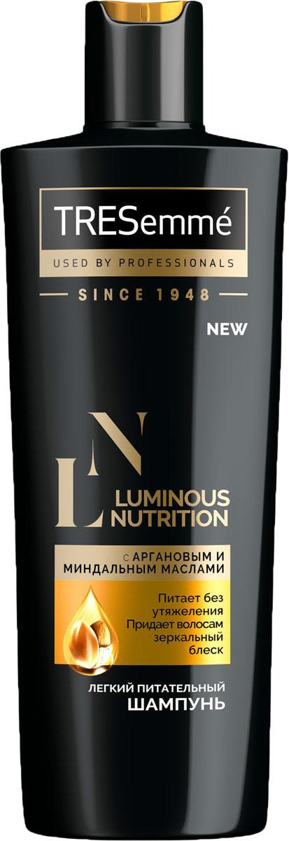Шампунь для волос Tresemme Luminous Nutrition, питательный, 400 мл стоимость