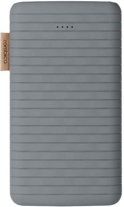 Внешний аккумулятор Rombica NEO ES100, цвет: серый, 10000 мАч стоимость