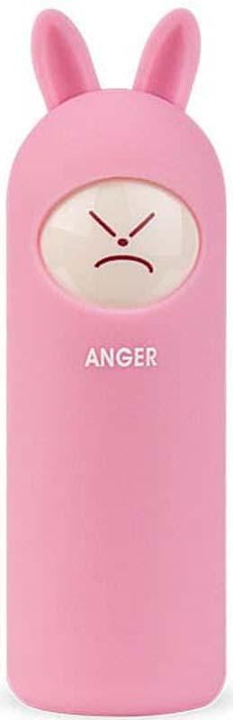 ВнешнийаккумуляторRombicaNEORabbitAnger,цвет: розовый, 5000 мАч внешний аккумулятор samsung eb pn930csrgru 10200mah серый