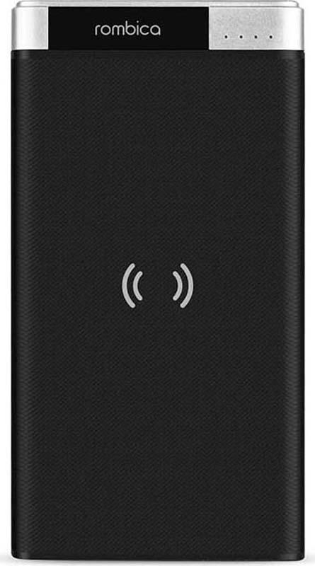 Внешний аккумулятор Rombica NEO PQ6 Wireless, цвет: черный, 6000 мАч внешний аккумулятор samsung eb pn930csrgru 10200mah серый