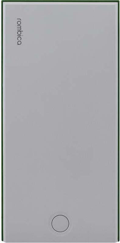 Внешний аккумулятор Rombica NEO NS100G, цвет: зеленый, 10000 мАч внешний аккумулятор samsung eb pn930csrgru 10200mah серый