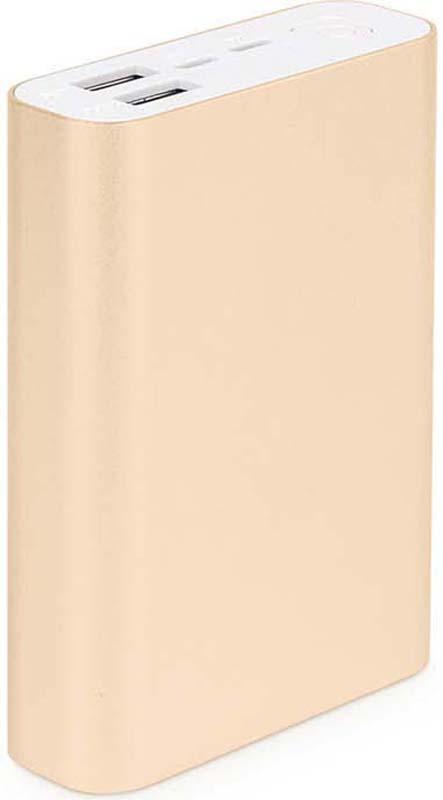 Внешний аккумулятор Rombica NEO AZ120G Quick, цвет: золотой, 12000 мАч telesin extendable aluminum alloy selfie stick detachable tripod for phone tripod for gopro mount tripod for camera monopod