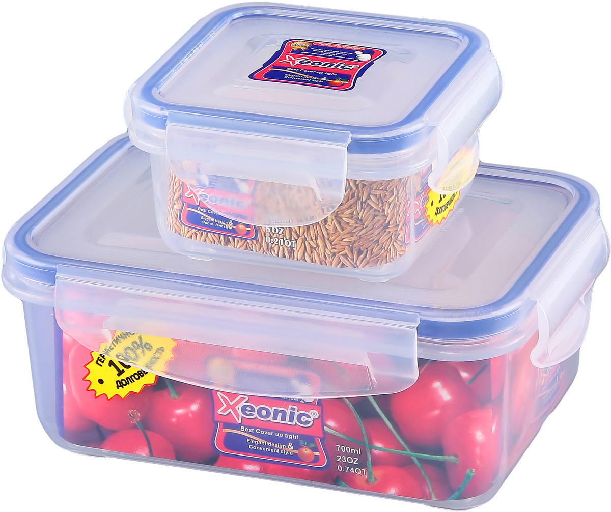 Набор контейнеров Xeonic, 2 предмета. 810727