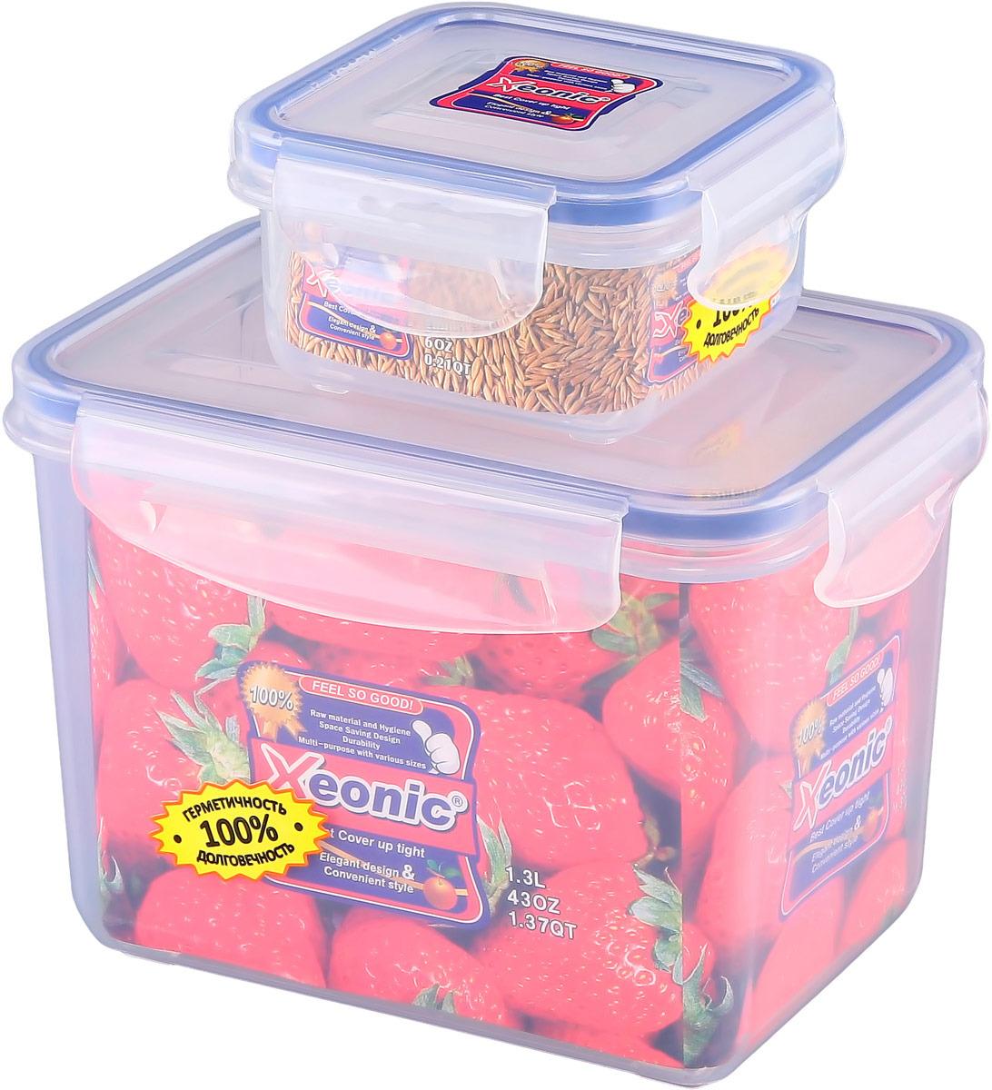 Набор контейнеров Xeonic, 2 предмета. 810835