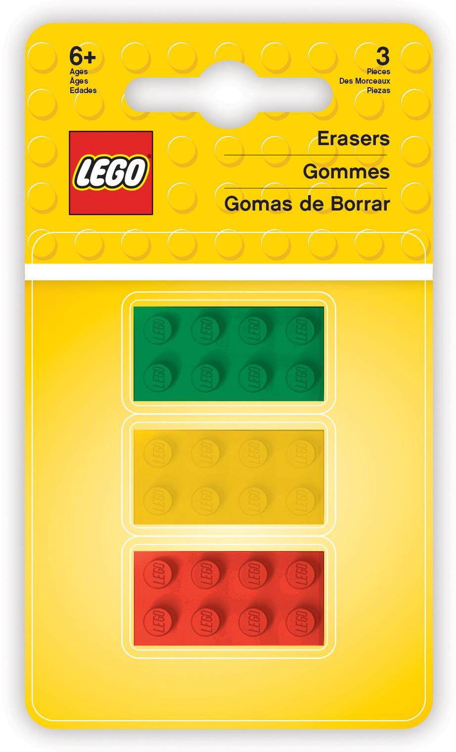 Набор ластиков LEGO, 3 шт все цены