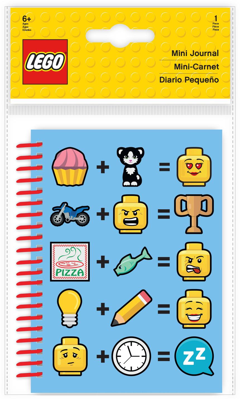 Блокнот LEGO Iconic, 100 листов в линейку lego batman movie набор блокнот на спирали 100 листов в линейку и гелевая ручка