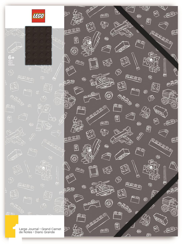 Записная книжка LEGO, А4, 96 листов в линейку