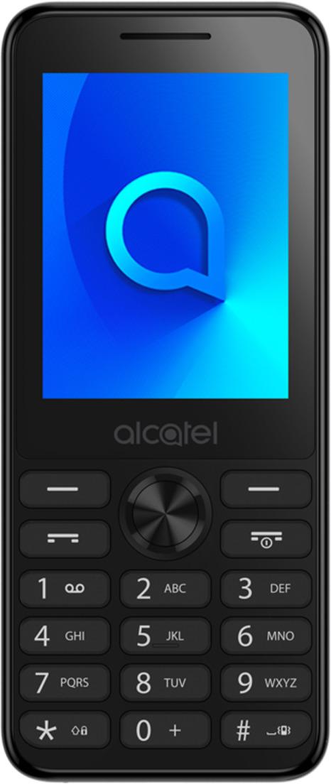 Мобильный телефон Alcatel 2003D, темно-серый телефон