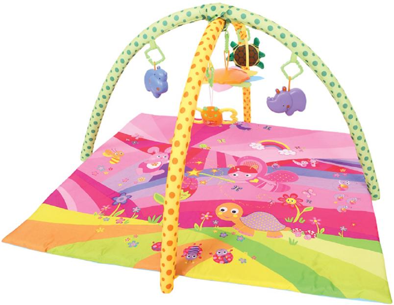 Развивающий коврик Lorelli Toys Сказка, 91 х 84 см развивающий коврик lorelli toys развивающий коврик lorelli toys с интерактивным столиком 105 х 65 см 1030038