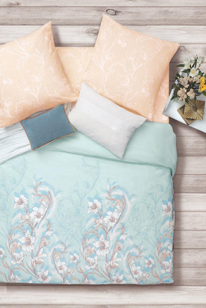 Комплект постельного белья Sova & Javoronok Лилиана, евро, наволочка 50x70 наволочка sova