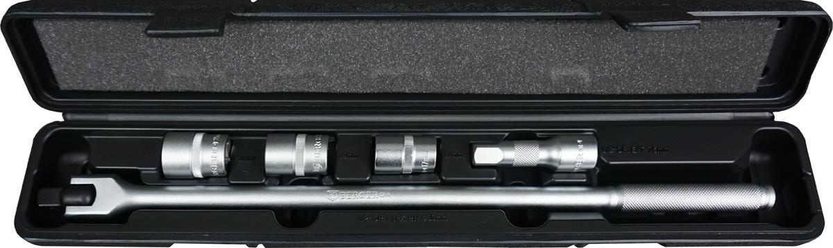 Набор инструментов для замены колес Berger, 5 предметов. BG2154