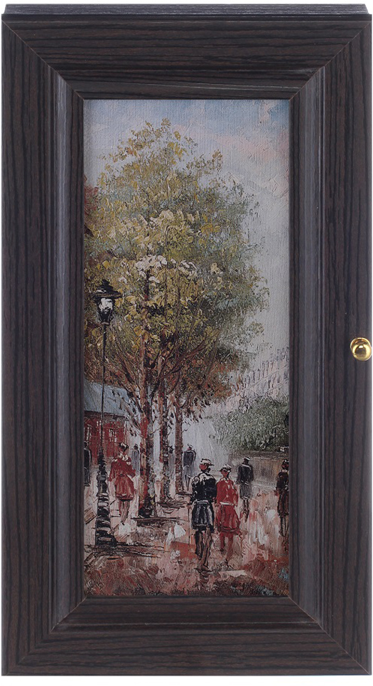 Ключница настенная Milarte, 17 x 32 см. MAK-O41009