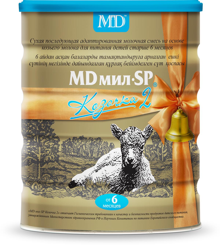 MD Мил SP Козочка 2 Смесь молочная, с 6 до 12 месяцев, 800 г