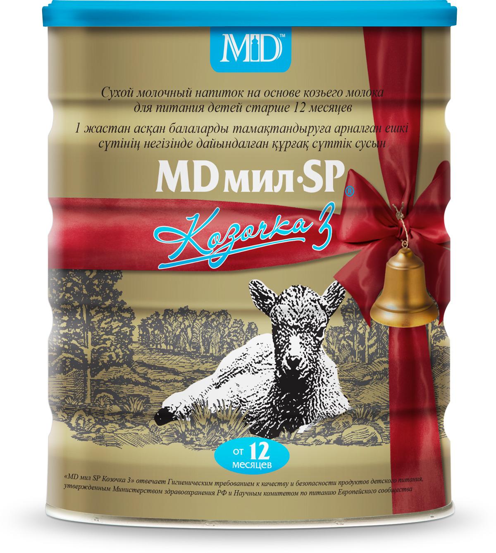 MD Мил SP Козочка 3 Смесь молочная, с 12 месяцев, 800 г цена