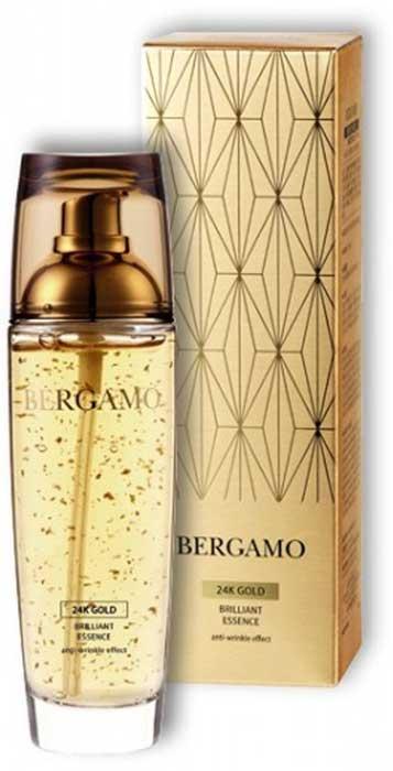 Сыворотка для лица Bergamo, антивозрастная с золотом, 110 мл цена 2017