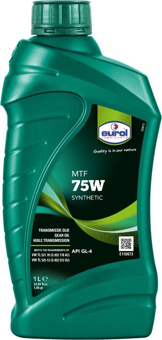 Масло трансмиссионное Eurol MTF 75W GL-4, 1 л цена