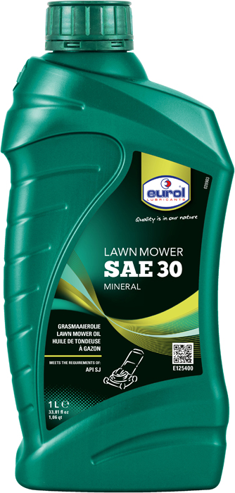 Масло для газонокосилок Eurol Lawn Mower Oil SAE 30 API SJ, 1 л bmw m twinpower turbo longlife 01 sae 0w 40 83212365925 1л
