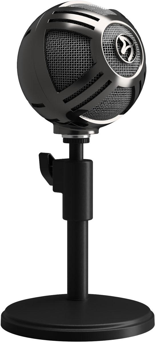 Микрофон для стримеров Arozzi Sfera, Chrome