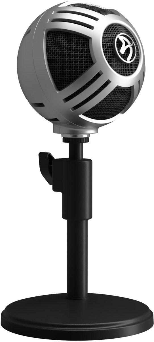 Микрофон для стримеров Arozzi Sfera Pro, Silver