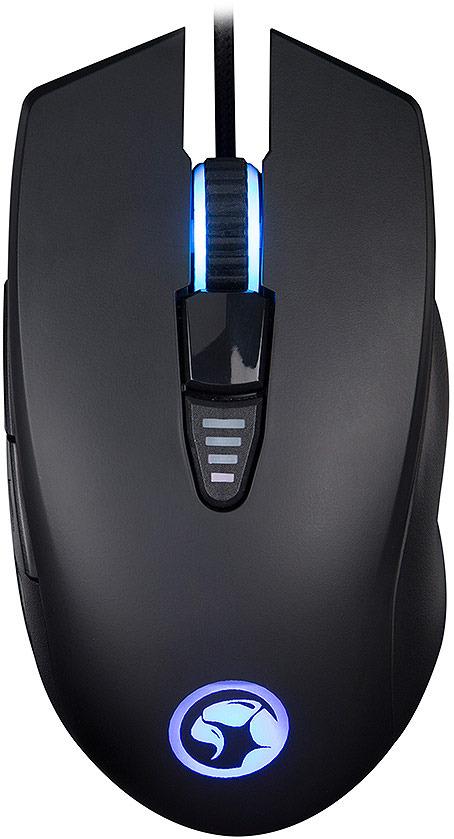 лучшая цена Мышь игровая Marvo Red Scorpion G982, Black Gray