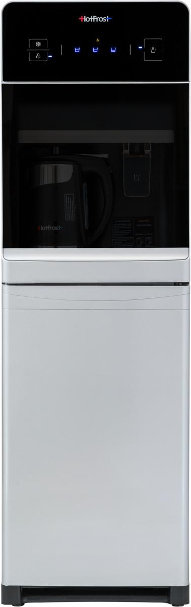 Кулер для воды HotFrost, 350 ANET, цвет: серебристый кулер для воды hotfrost 350 anet silver