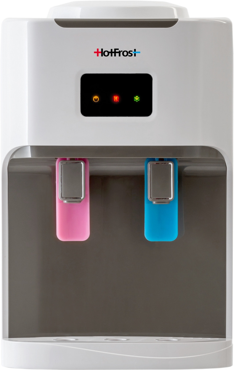 Кулер для воды HotFrost, D115, цвет: белый цена