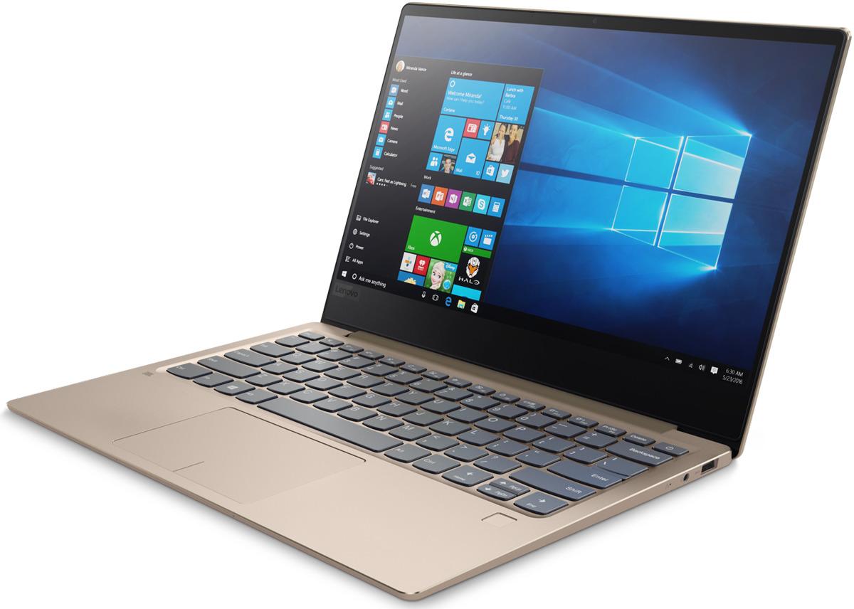 13.3 Ноутбук Lenovo IdeaPad 720S-13IKB 81A8000YRK, шампанское ноутбук wifi