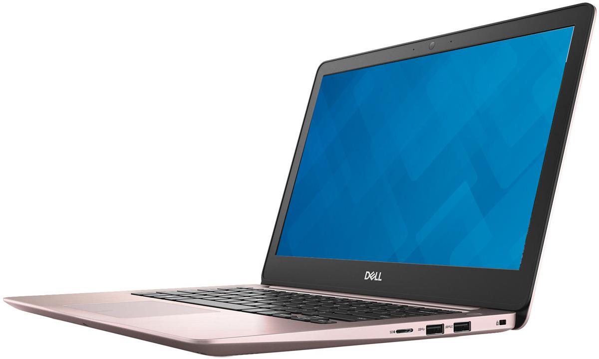 13.3 Ноутбук Dell Inspiron 5370 5370-7314, розовый ноутбук dell vostro 5370 core i5 8250u 4gb 256gb ssd 13 3 fullhd linux grey