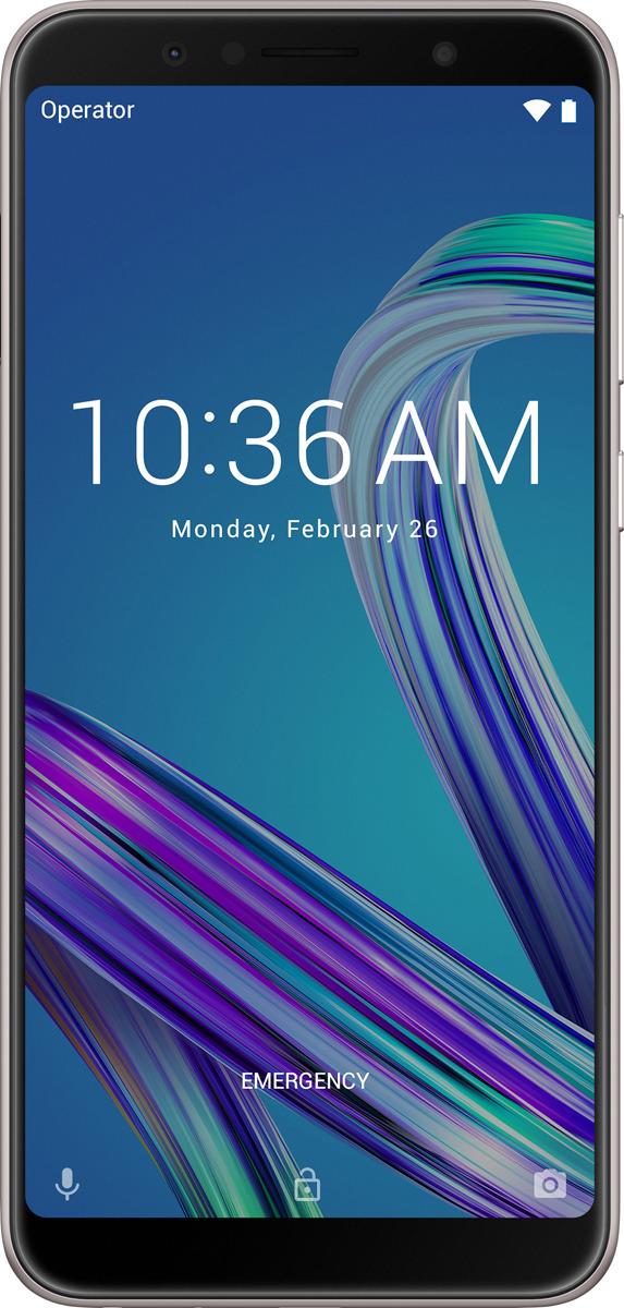 Смартфон ASUS ZenFone Max Pro M1 ZB602KL 3/32GB silver mi max 32gb silver