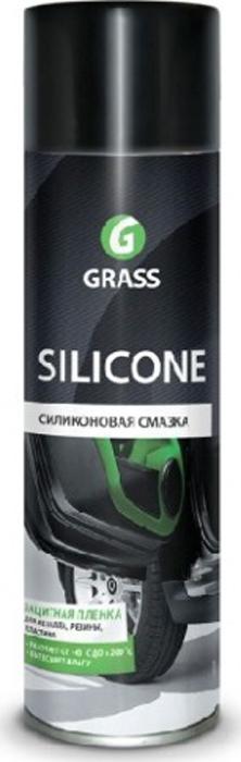 Смазка Grass Silicone, силиконовая, 400 мл смазка kerry силиконовая с аппликатором для уплотнителей 100 мл