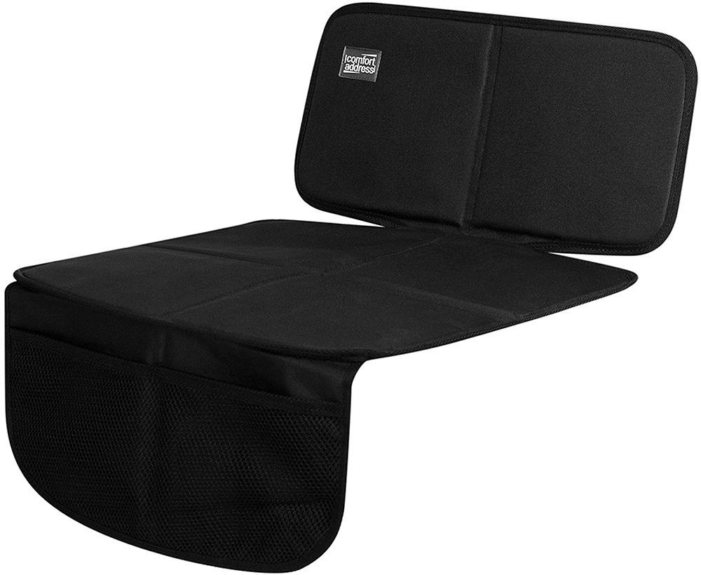 Накидка защитная под детское автокресло Comfort Address, с низкой спинкой накидка защитная в багажник comfort address daf 022 black