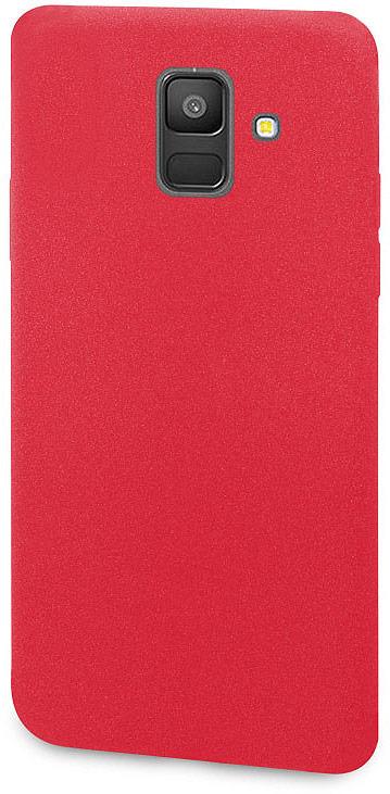 Чехол-накладка для сотового телефона DYP Liquid Pebble для Samsung Galaxy A6, Red цена и фото