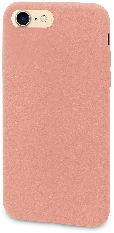 все цены на Чехол-накладка для сотового телефона DYP Liquid Pebble для Apple iPhone 8, Pink Gold онлайн