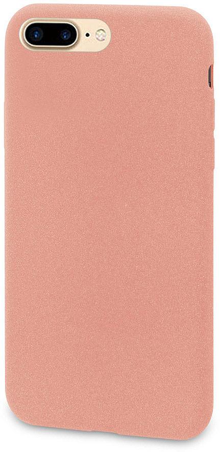 все цены на Чехол-накладка для сотового телефона DYP Liquid Pebble для Apple iPhone 8 Plus, Pink Gold онлайн