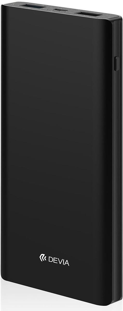 Аккумулятор внешний Devia King Kong QC3.0, 10000 mAh, цвет: черный цена