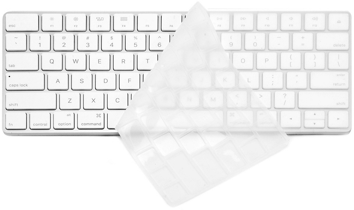 Чехол гелевый на клавиатуру Devia Keypad Cover для ноутбука Macbook Pro 13.3'' и Macbook Pro 15.4'', цвет: прозрачный