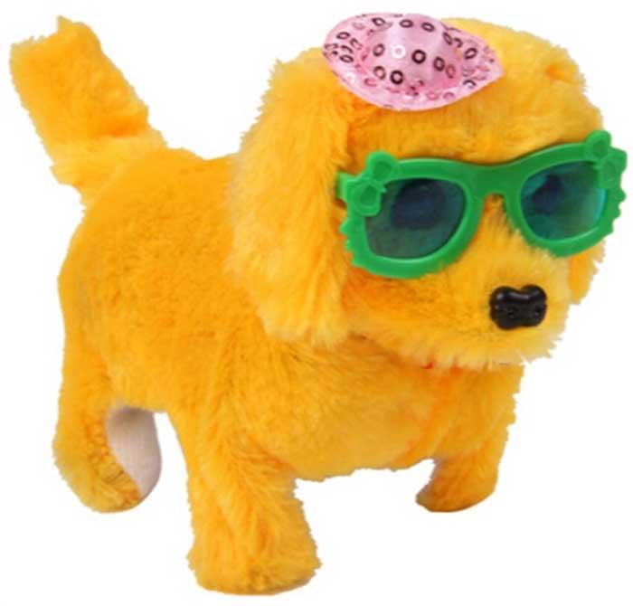 Интерактивная игрушка Fidget Go Собачка Дружок бежевый тендерайзер fidget go цвет белый