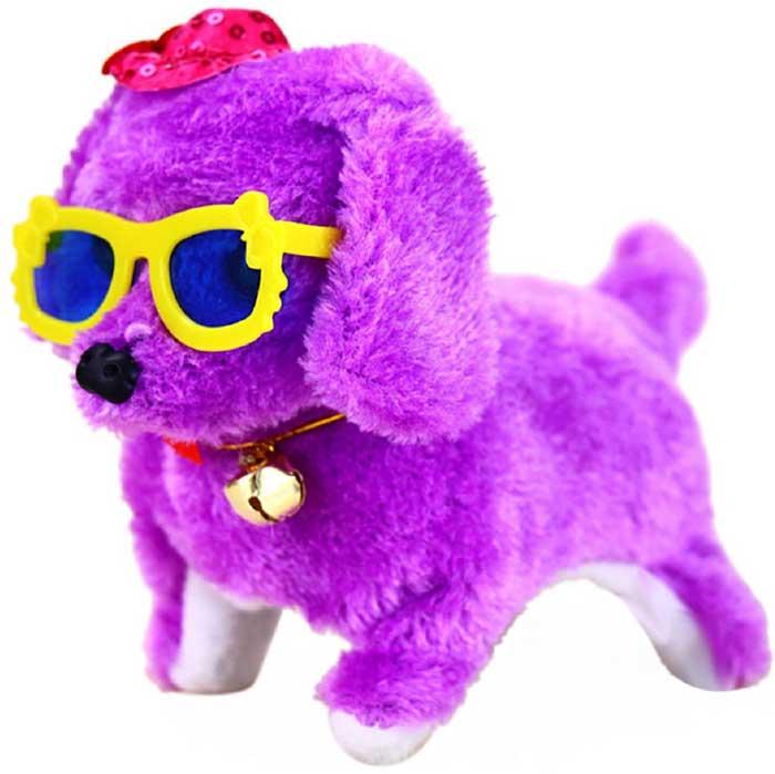 Интерактивная игрушка Fidget Go Собачка Дружок фиолетовый тендерайзер fidget go цвет белый