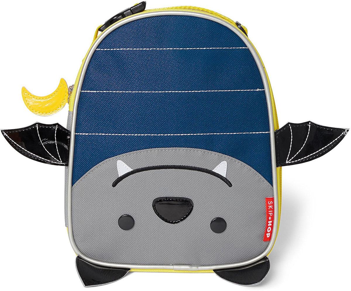 Сумочка для ланч-бокса детская Skip Hop Летучая мышь сумочка для ланч бокса детская skip hop божья коровка