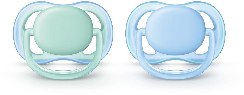 Пустышка силиконовая Philips Avent Ultra Air для мальчиков от 0 до 6 месяцев, 2 шт. SCF244/20 пустышка силиконовая philips avent ultra air для мальчиков от 0 до 6 месяцев 2 шт scf244 20