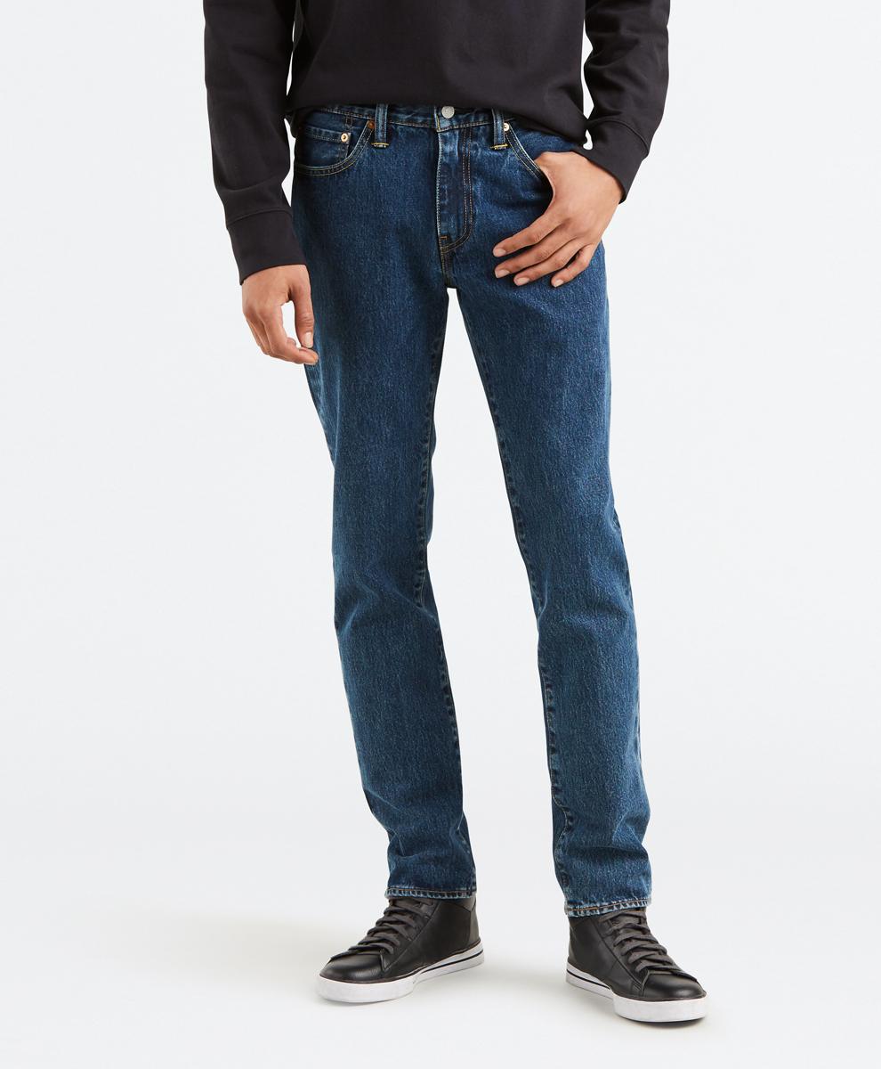 Джинсы Levi's джинсы из денима стретч