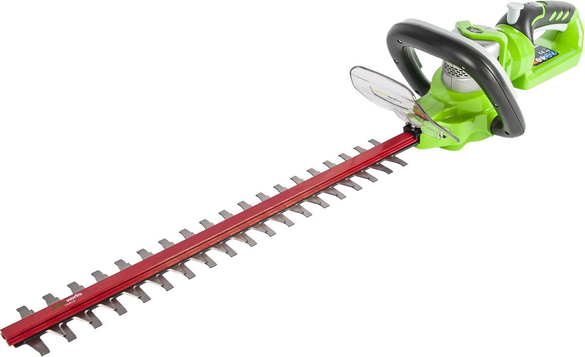 цена на Кусторез GreenWorks 24В делюкс (без аккумуляторной батареи и зарядного устройства)
