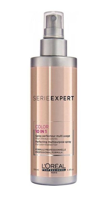 LOreal Professionnel Мультифункциональный спрей 10 в 1 Vitamino Color Infinite Spray AOX - 190 млL715233Всего одним жестом (10 мгновенных преимуществ использования) - Защита цвета окрашенных волос - Блеск - Мягкость - Плотность. Равномерность структуры волоса - Увлажнение - Легкое расчесыние - Волосы лучше укладываются на брашинг - Предотвращает ломкость - Борется с секущимися кончиками - Анти-статик. Волосы не пушатся Универсальное средство для усиления сияния всех оттенков окрашенных волос. Уважаемые клиенты! Обращаем ваше внимание на возможные изменения в дизайне упаковки. Качественные характеристики товара остаются неизменными. Поставка осуществляется в зависимости от наличия на складе. Рекомендуем!