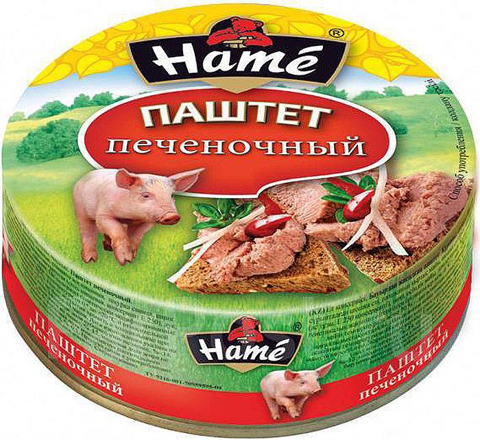 Паштет печеночный Hame, 250 г цена и фото